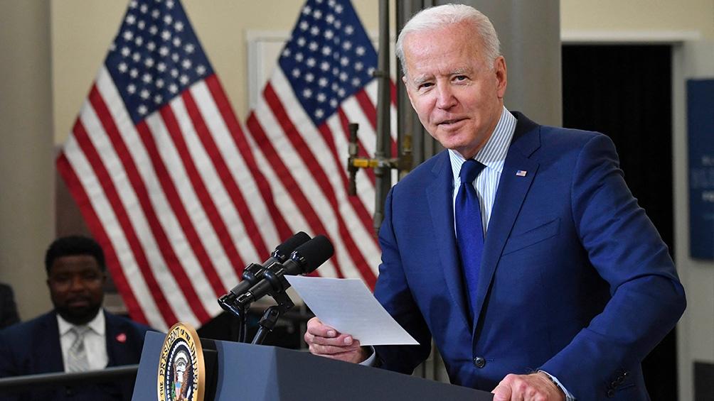 Biden está realizando su primer viaje al extranjero