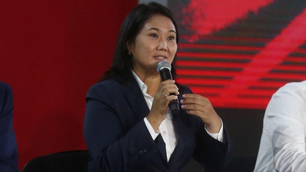 Keiko Fujimori denuncia fraude