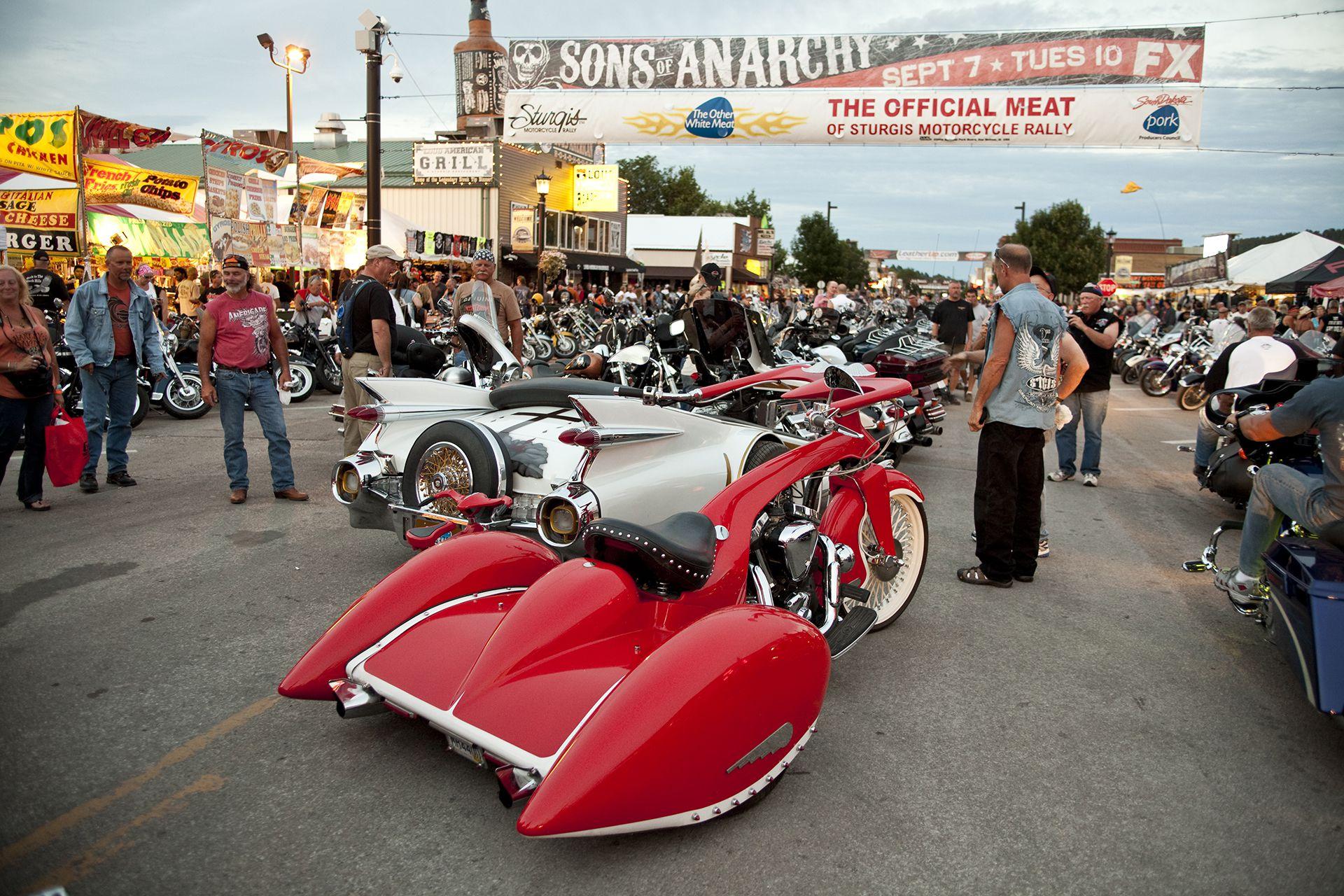 Harley-Davidson Motos Gabba Sturgis Dakota Milwaukee