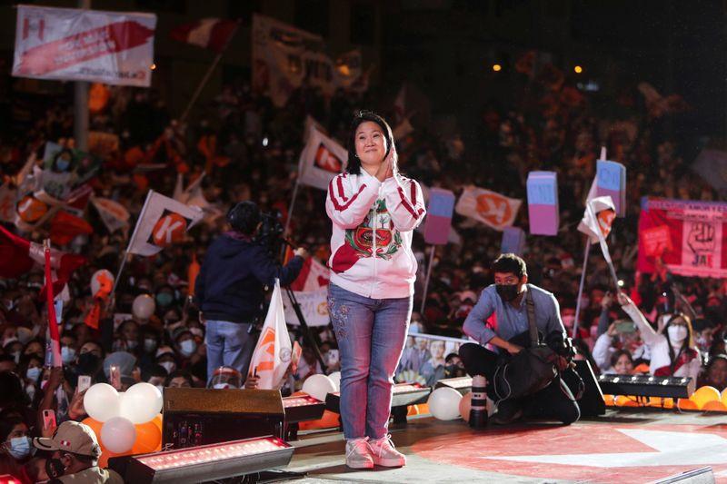 Ballotage abierto en Perú: la última encuesta confirma el ascenso de Keiko  Fujimori y vaticina un empate técnico con Pedro Castillo - Noticias de  Bariloche