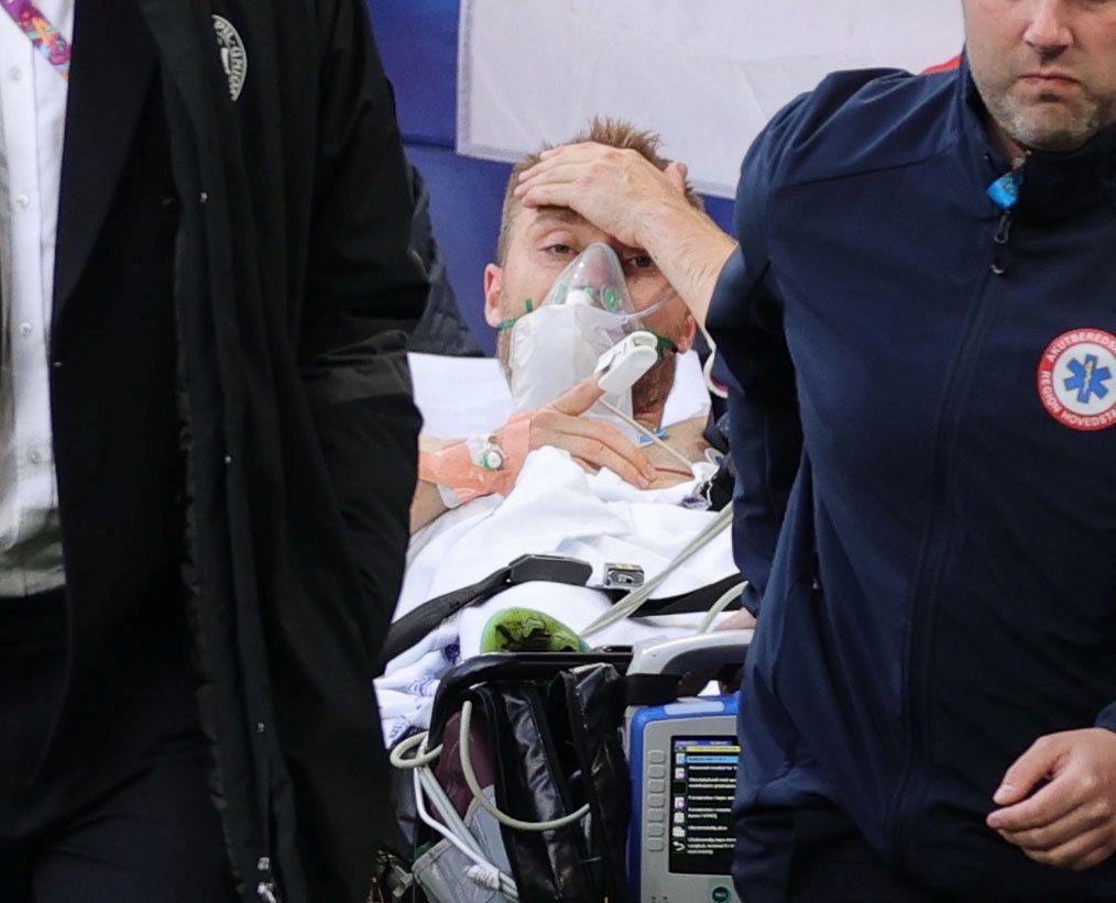 El futbolista se encuentra estable y pendiente a nuevos exámenes médicos (Reuters)