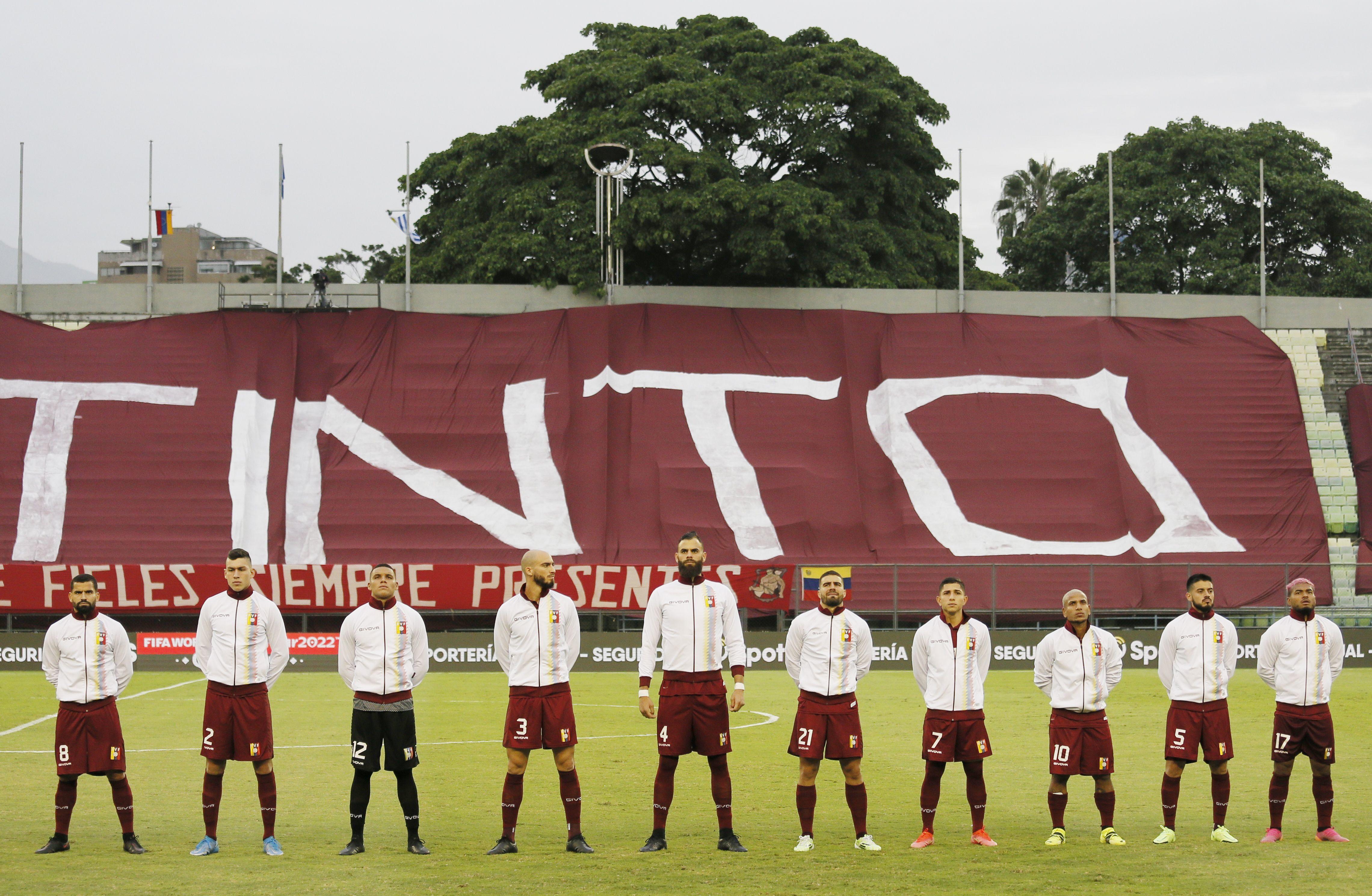 Venezuela podrá hacer cambios ilimitados para reemplazar a los jugadores con COVID-19, según avisó la Conmebol (Foto:  REUTERS)