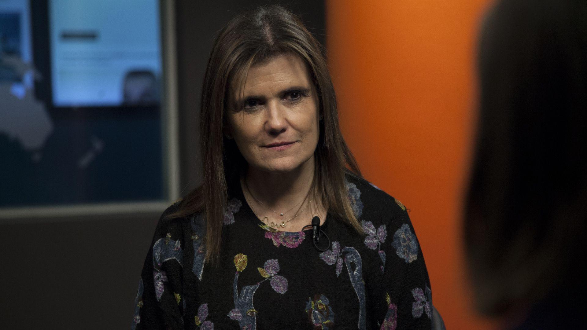 Pilar Sordo en Infobae, en 2019