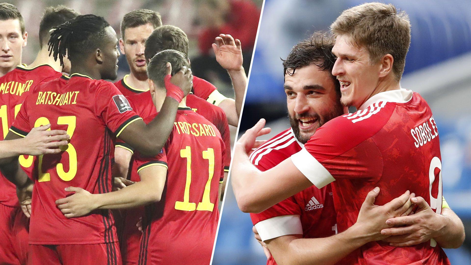 previa belgica vs rusia