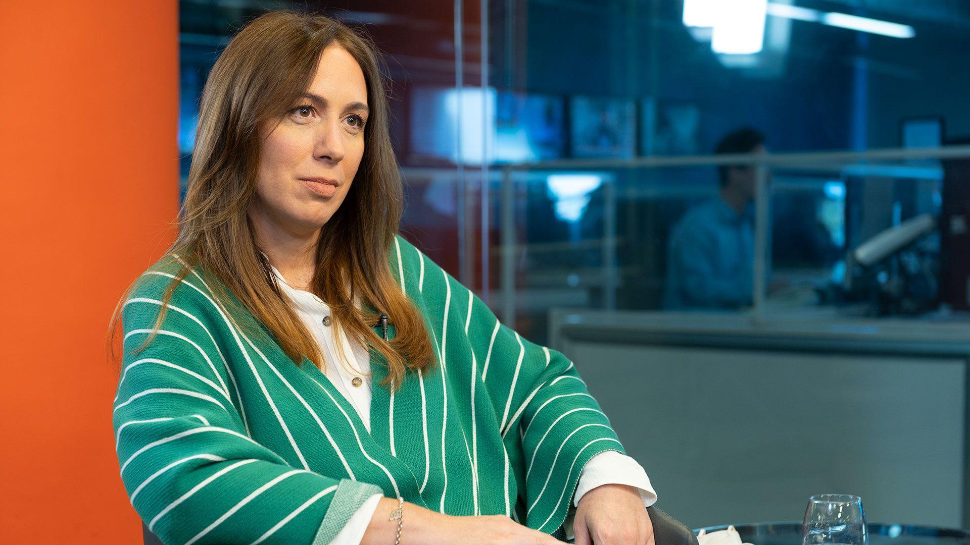 Entrevista Maria Eugenia Vidal Infobae 30 de abril 2021