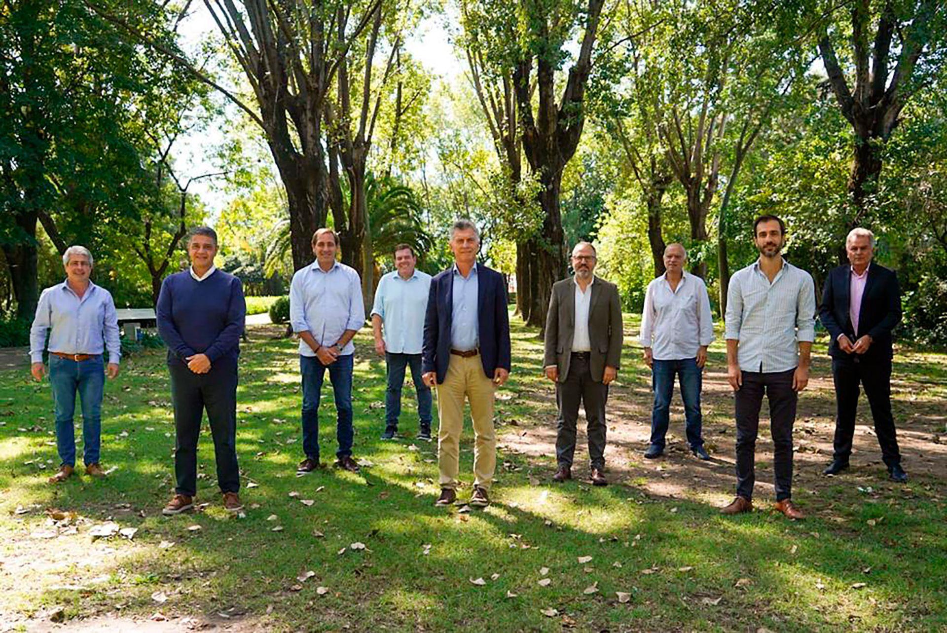 Macri con intendentes PRO