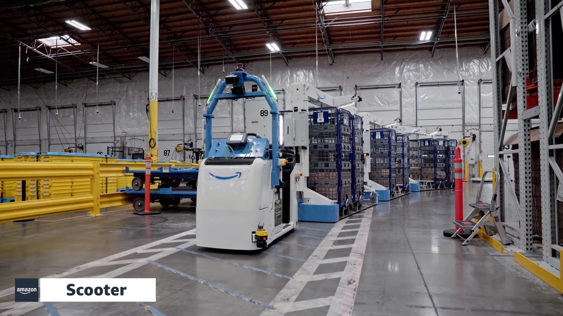 Scotter robot de Amazon