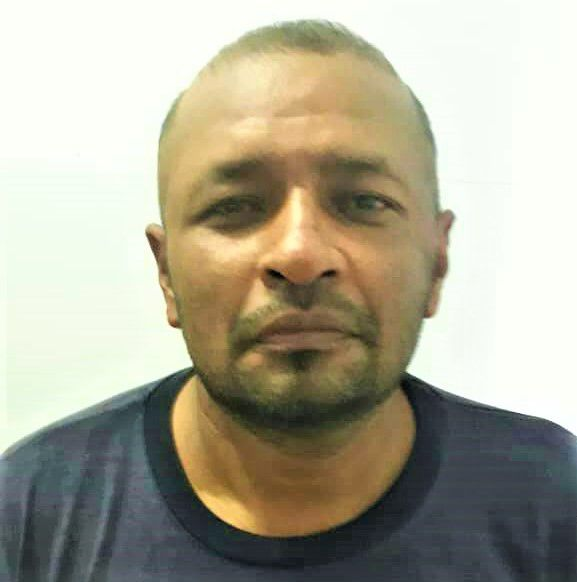 José Peligro, uno de los jefes locales de las FARC en Elorza