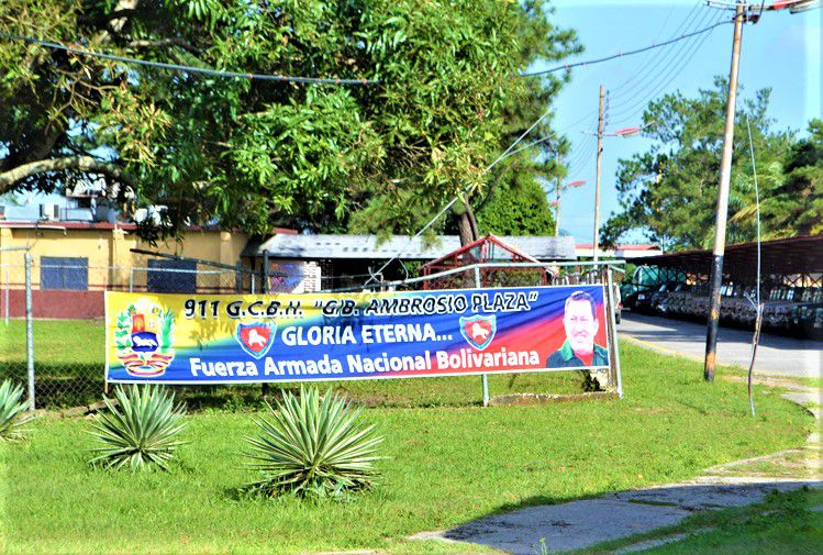 Comando Ambrosio Plaza en Elorza