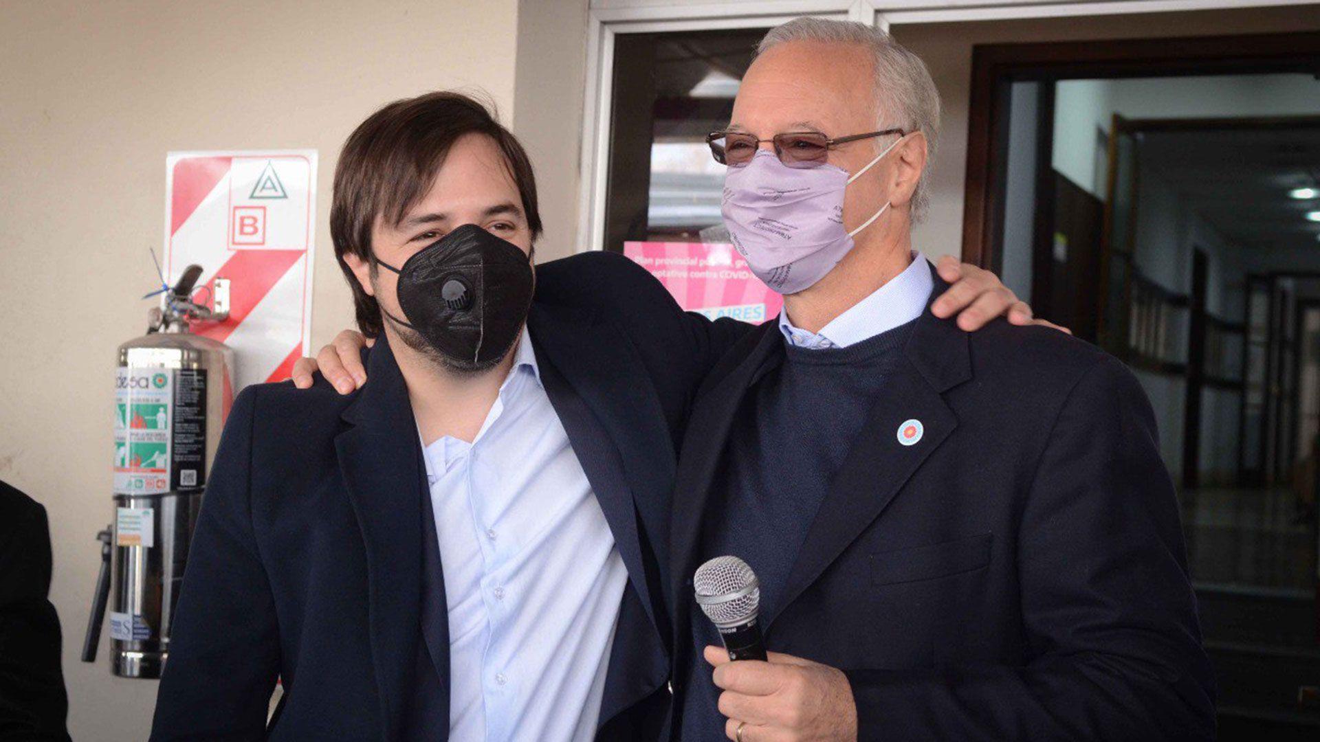 """El """"pogo peronista"""" tras la asunción de Kreplak como ministro de Salud bonaerense"""