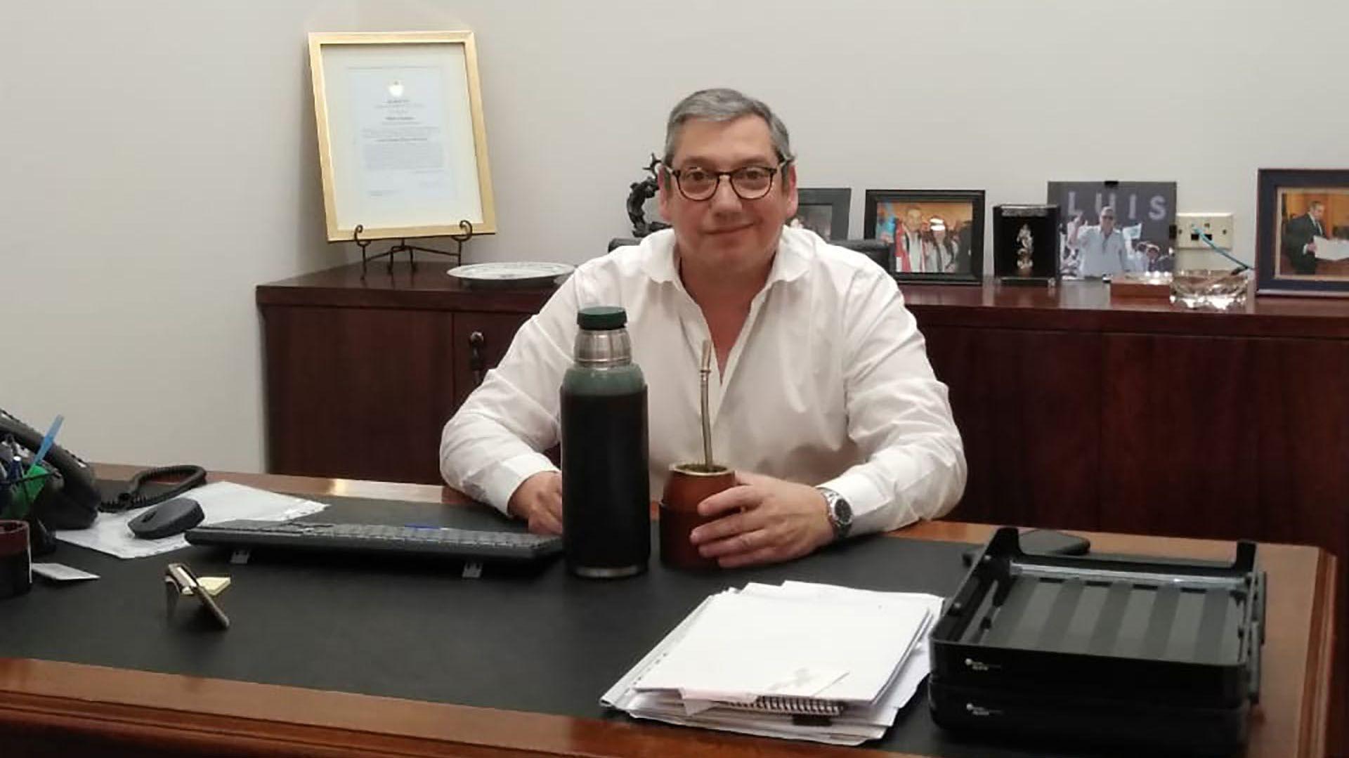 Carlos Enciso Embajador de Uruguay