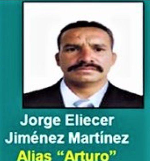 Alias Arturo del Décimo Frente de las FARC-EP