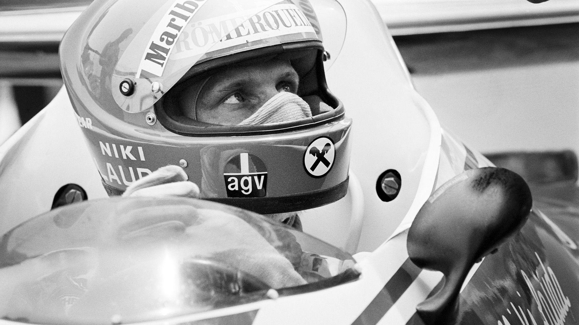 Niki Lauda en Mónaco 1976 (Photo by - / AFP)