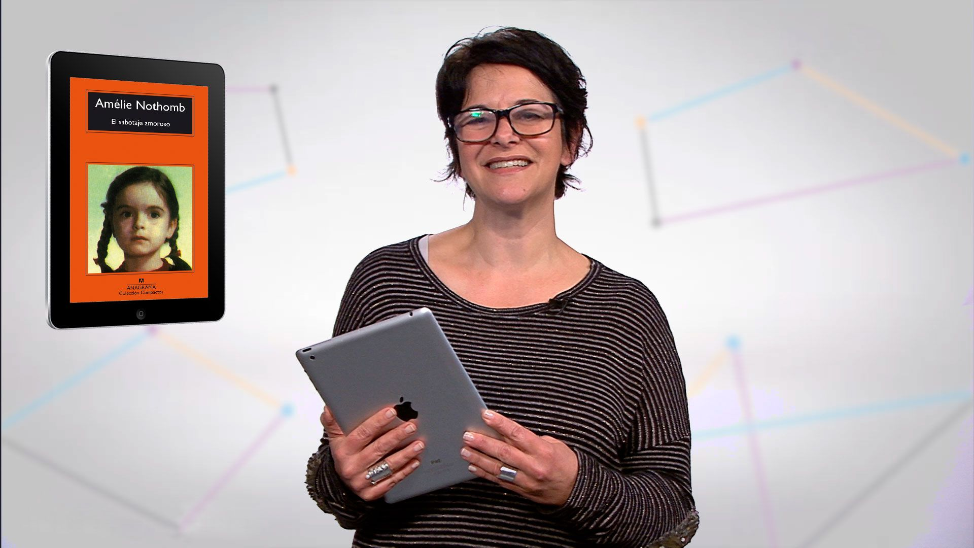 Flavia Pitella, profesora de lengua y literatura
