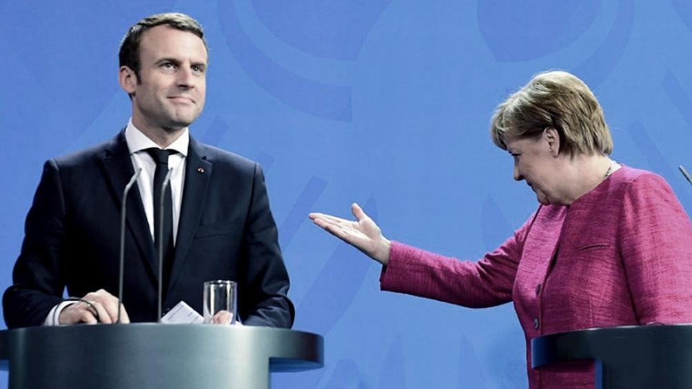 Macron y Merkel tuvieron importantes coincidencias, como el plan del relanzamiento europeo