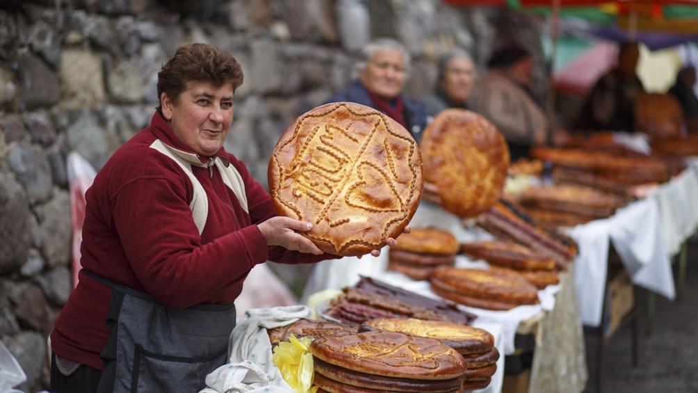 Los dulces hojaldrados, como el gata, son un clásico de la cocina armenia.