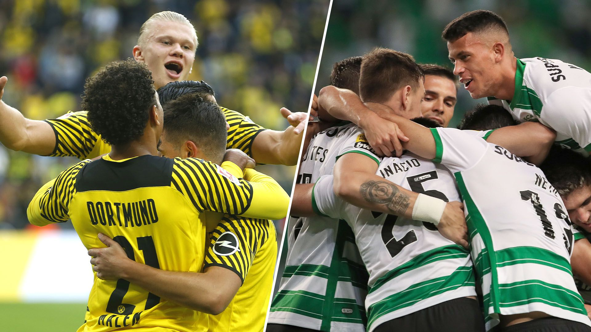 previa Dortmund vs Sporting de Lisboa