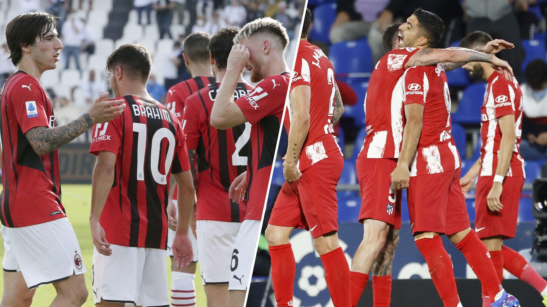 Previa Milan vs Atletico Madrid