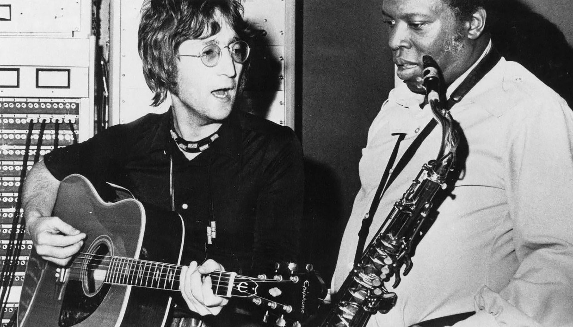 John Lennon y King Curtis