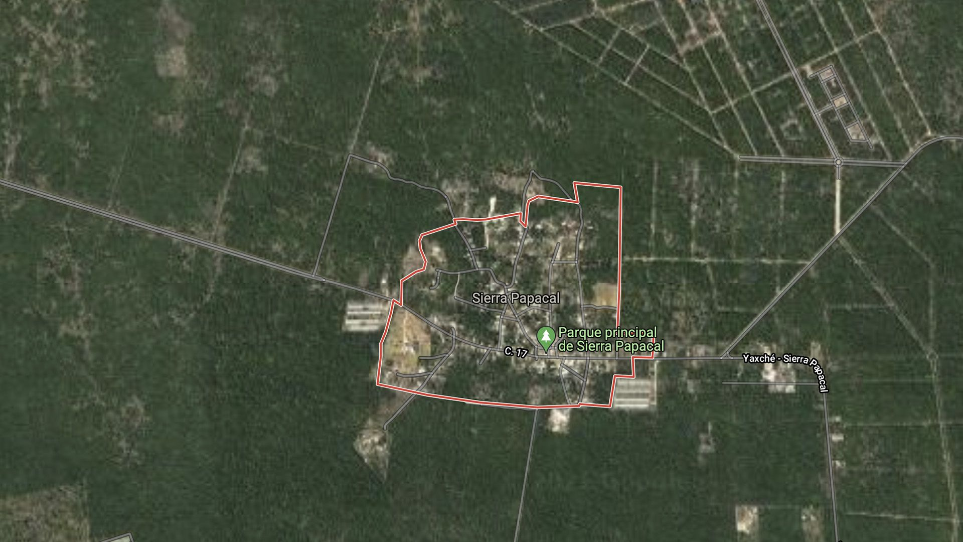 Sierra Papacal (Foto: Google Maps)