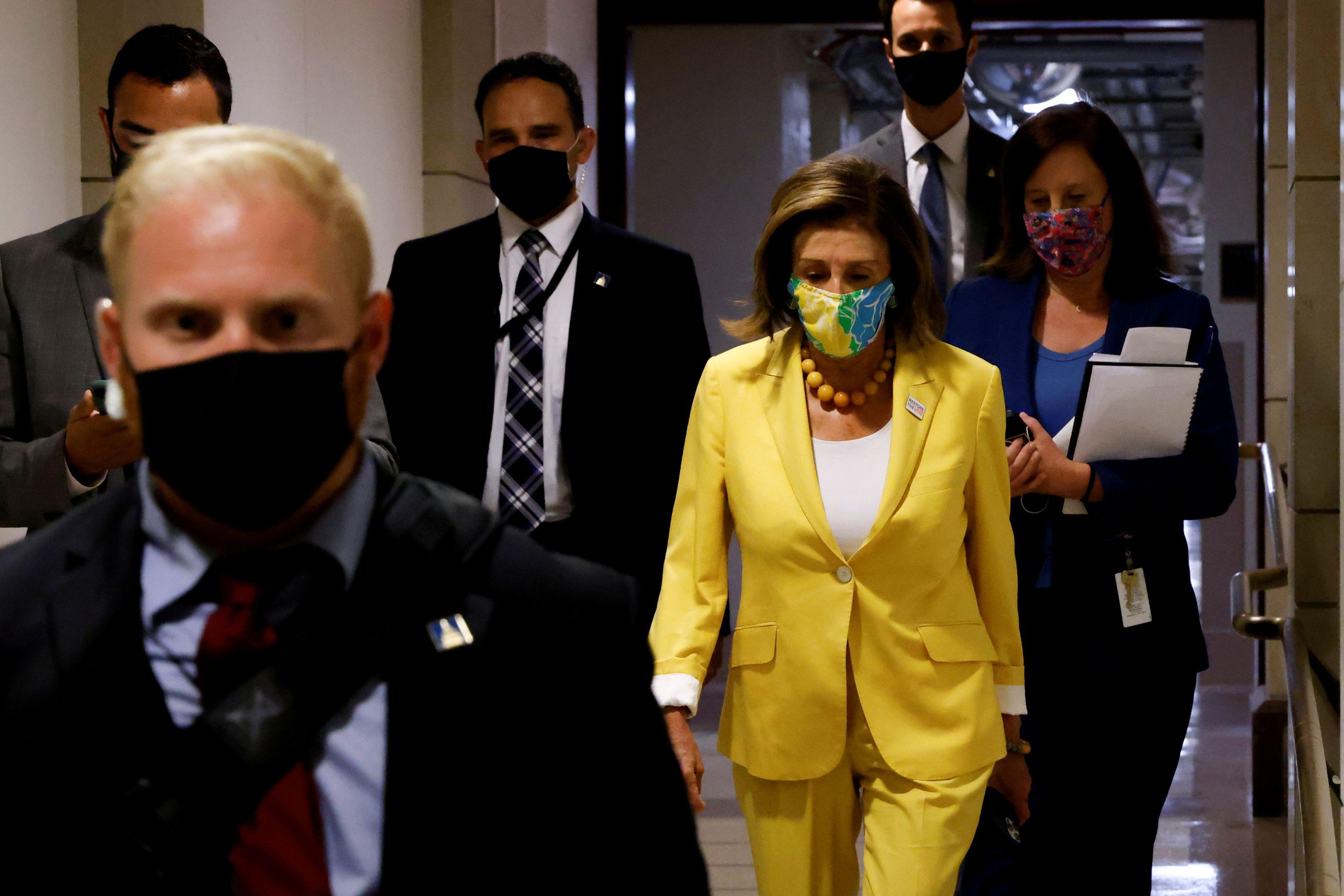 Nancy Pelosi, líder demócrata en la Cámara de Representantes (Foto: REUTERS)
