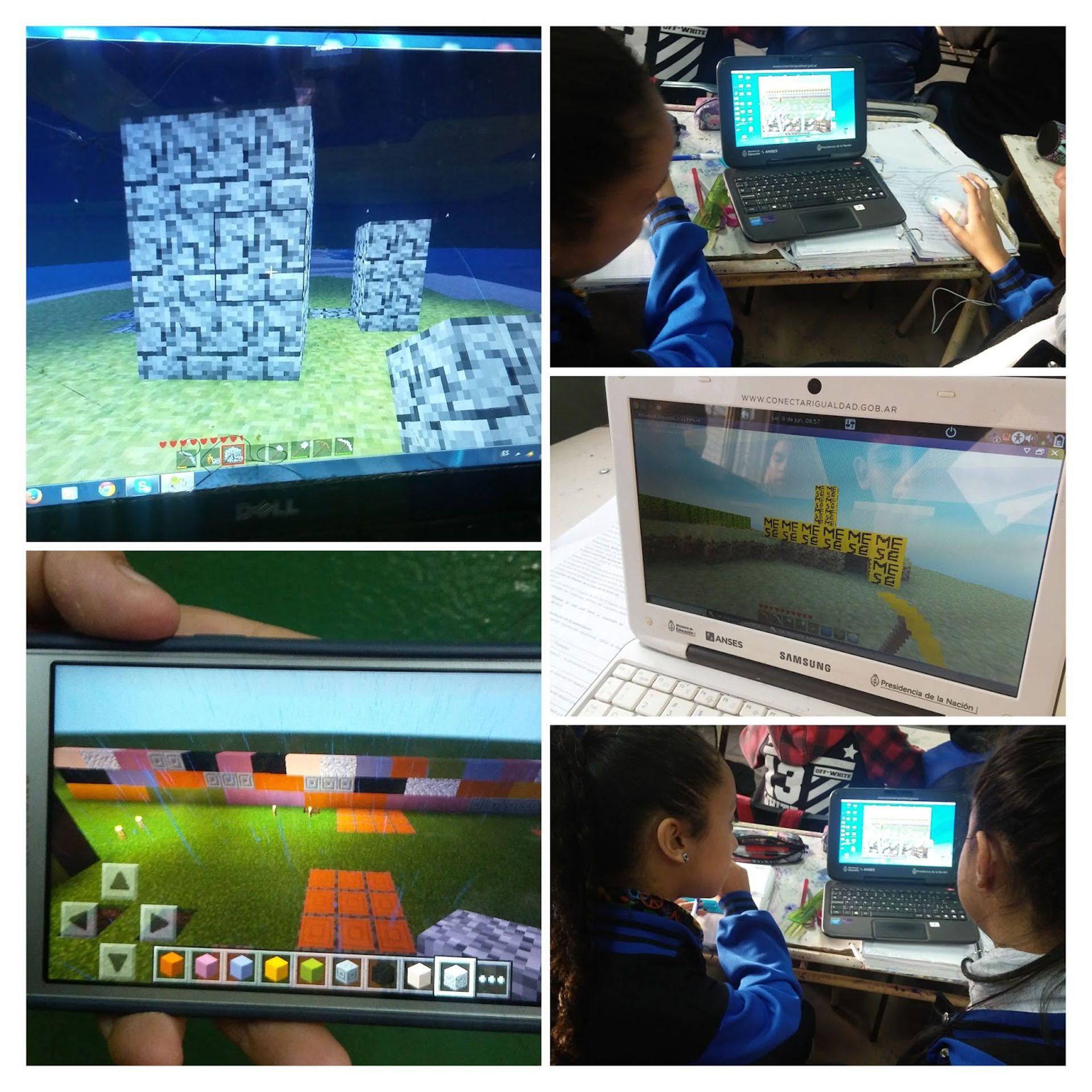 Uso de la versión cláisica de Minecraft para aprender matemática (Blog: minecraft en matemáticas)
