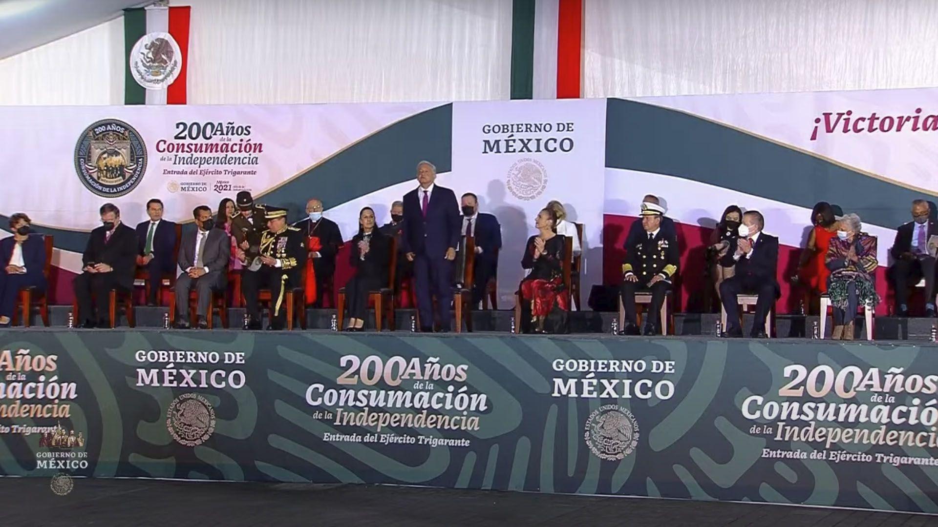 200 Años de la Consumación de la Independencia (Foto: Captura de pantalla/Gobierno de México)