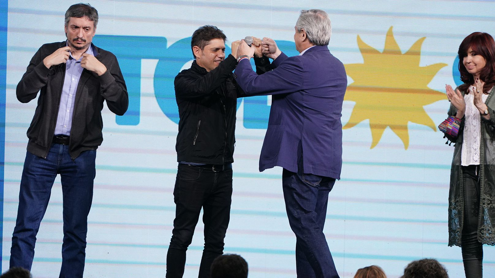 Alberto Fernández elecciones paso frente de todos