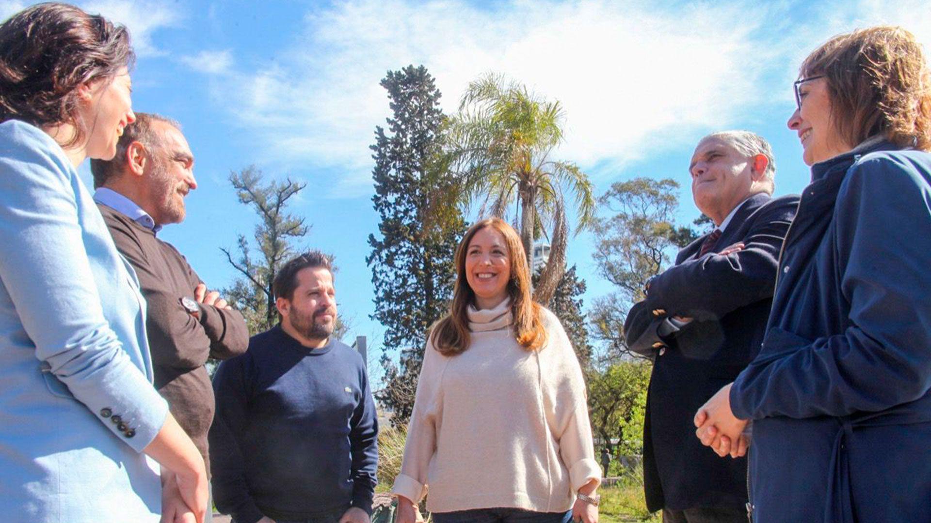 Maria-Eugenia-Vidal-se-reunio-con-Ricardo-Lopez-Murphy-y-otros-candidatos-de-su-lista