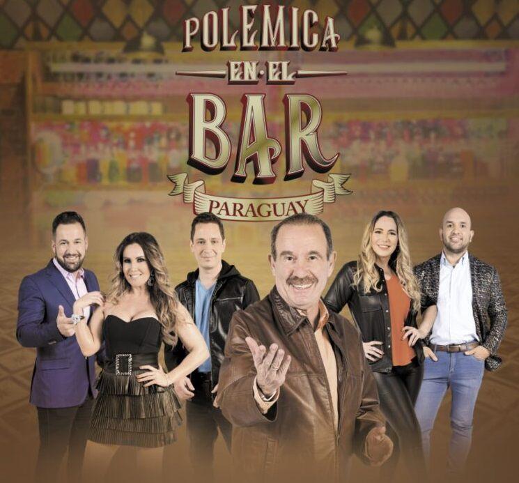 Arturo Máximo Rubín, Lorena Arias, Kike Casanova, Agustín Genovese, Clara Franco y Gustavo Corvalán: el renovado staff de Polémica en el bar Paraguay