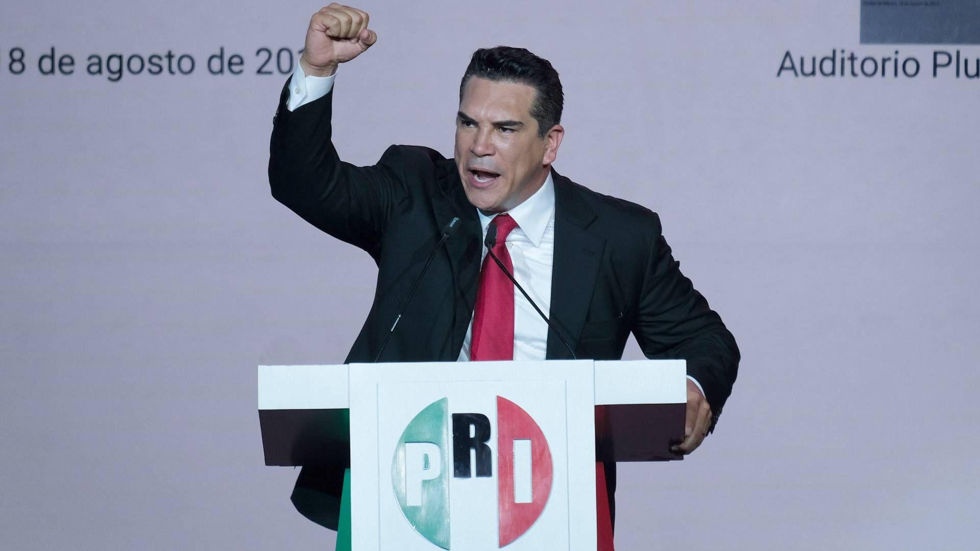 Alejandro Moreno deseó un buen futuro para Campeche (Foto: Graciela López / Cuartoscuro)