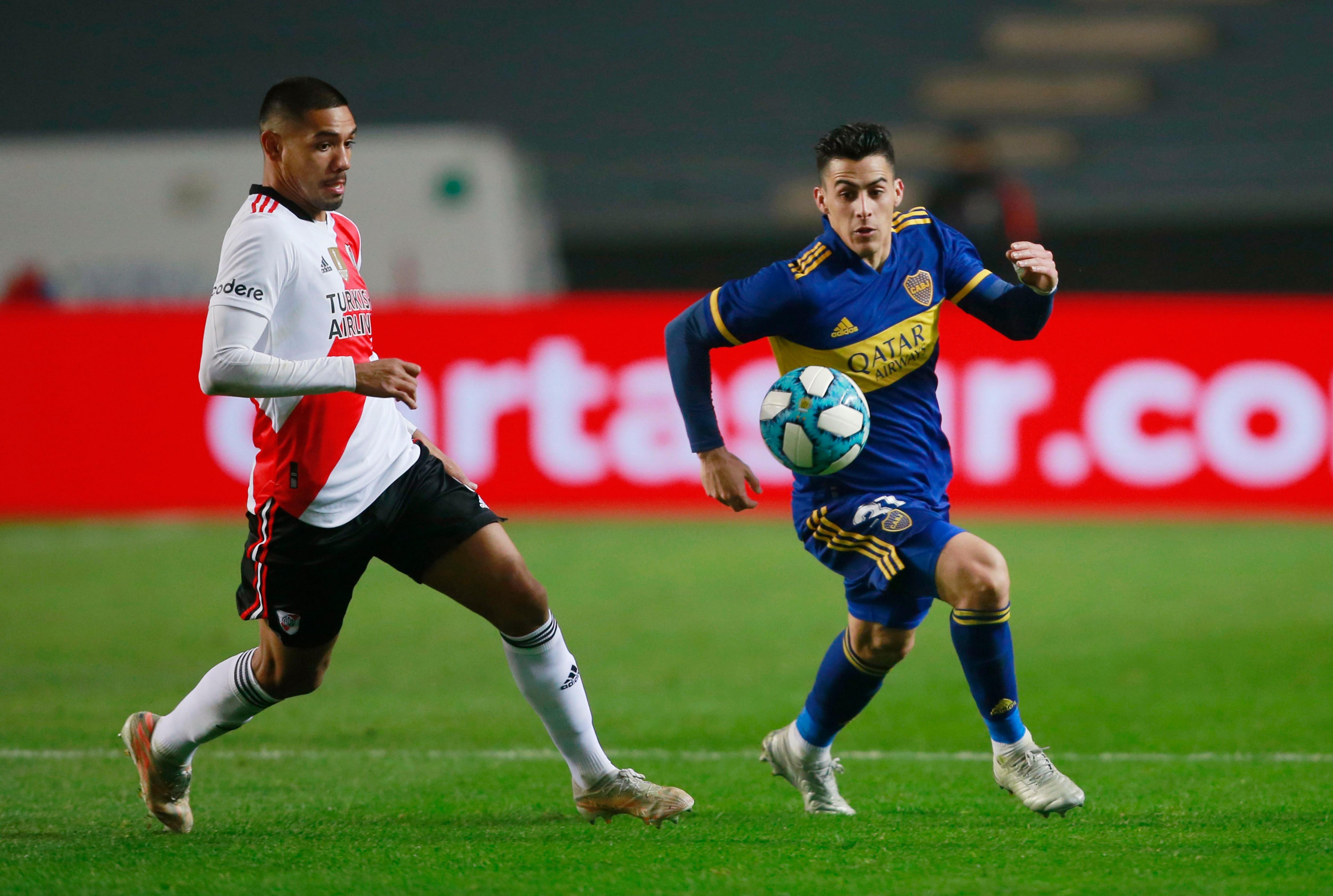 Si bien Martínez podría volver contra Central Córdoba, Gallardo lo guardaría para el Superclásico (REUTERS/Demian Alday Estévez)