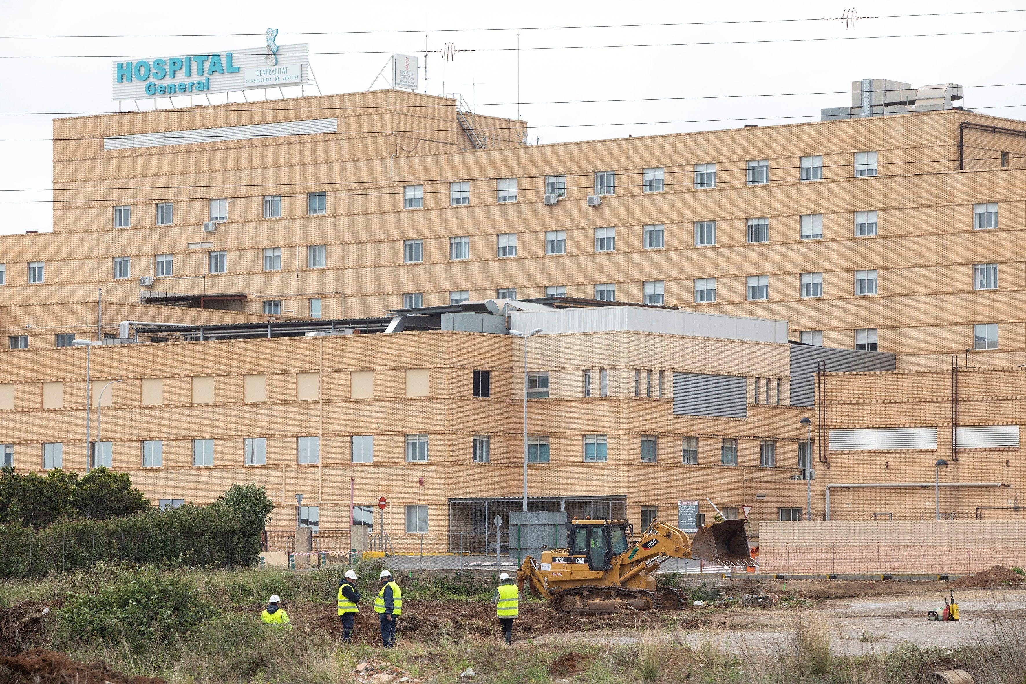 Imagen de archivo del Hospital General Universitario de Castellón. EFE/Domenech Castelló