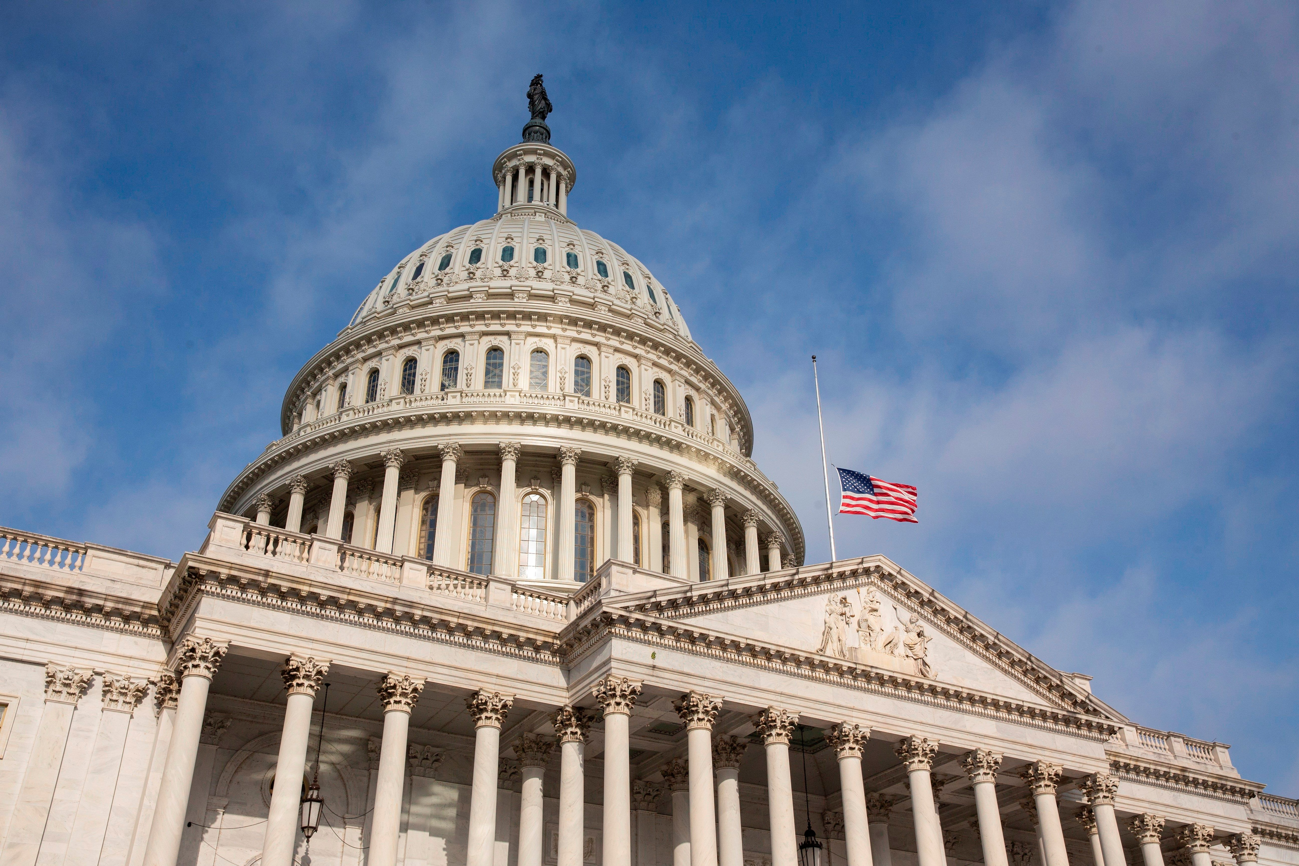 Vista general del Capitolio en Washington (Foto: EFE)