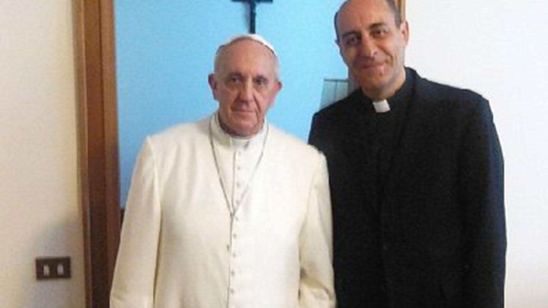 Víctor Manuel Fernández y el Papa Francisco