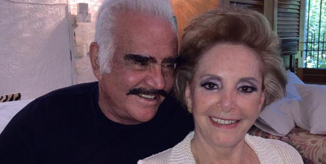 Así nació el amor entre Vicente Fernández y Doña Cuca
