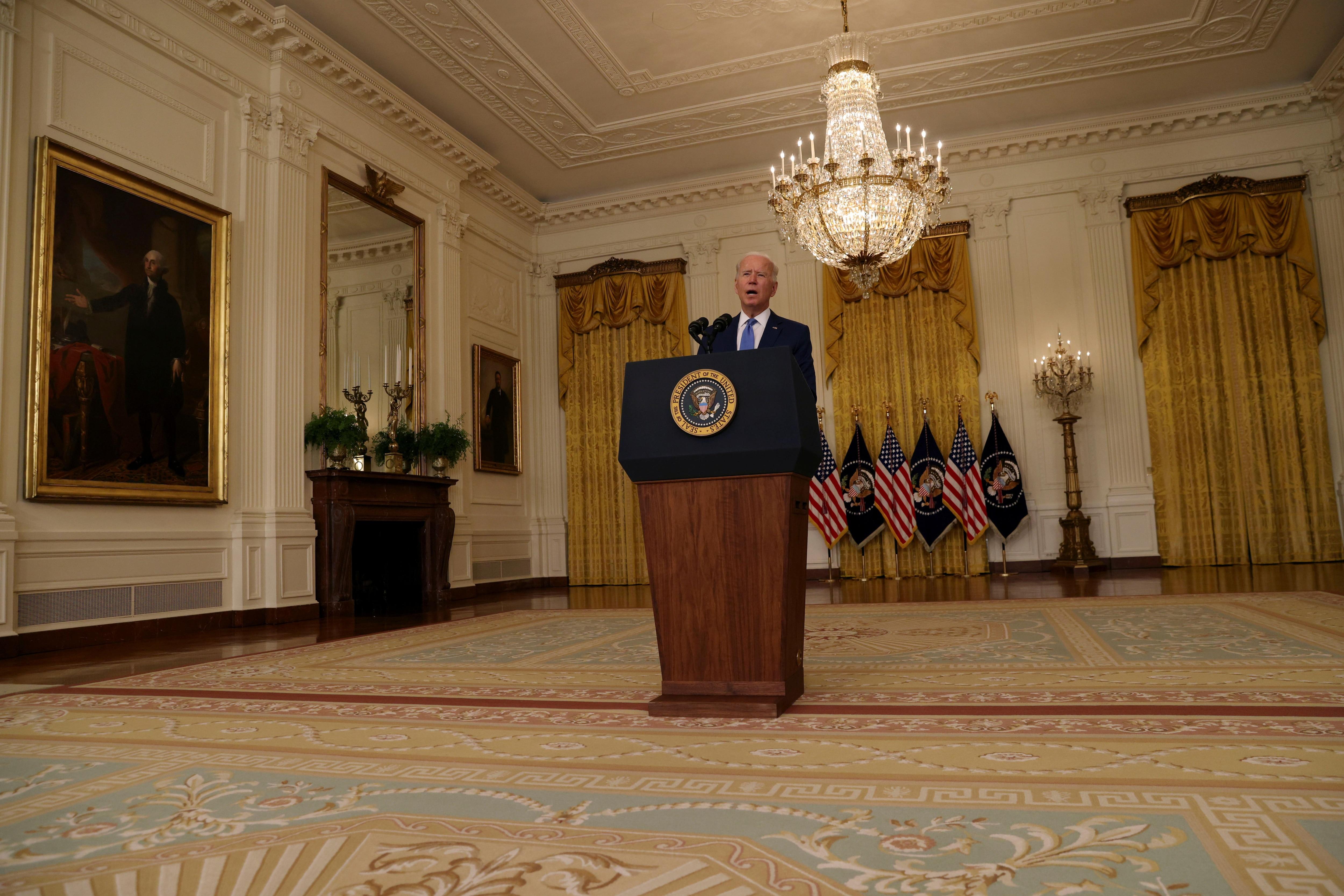 Joe Biden en la Casa Blanca (Foto: REUTERS)
