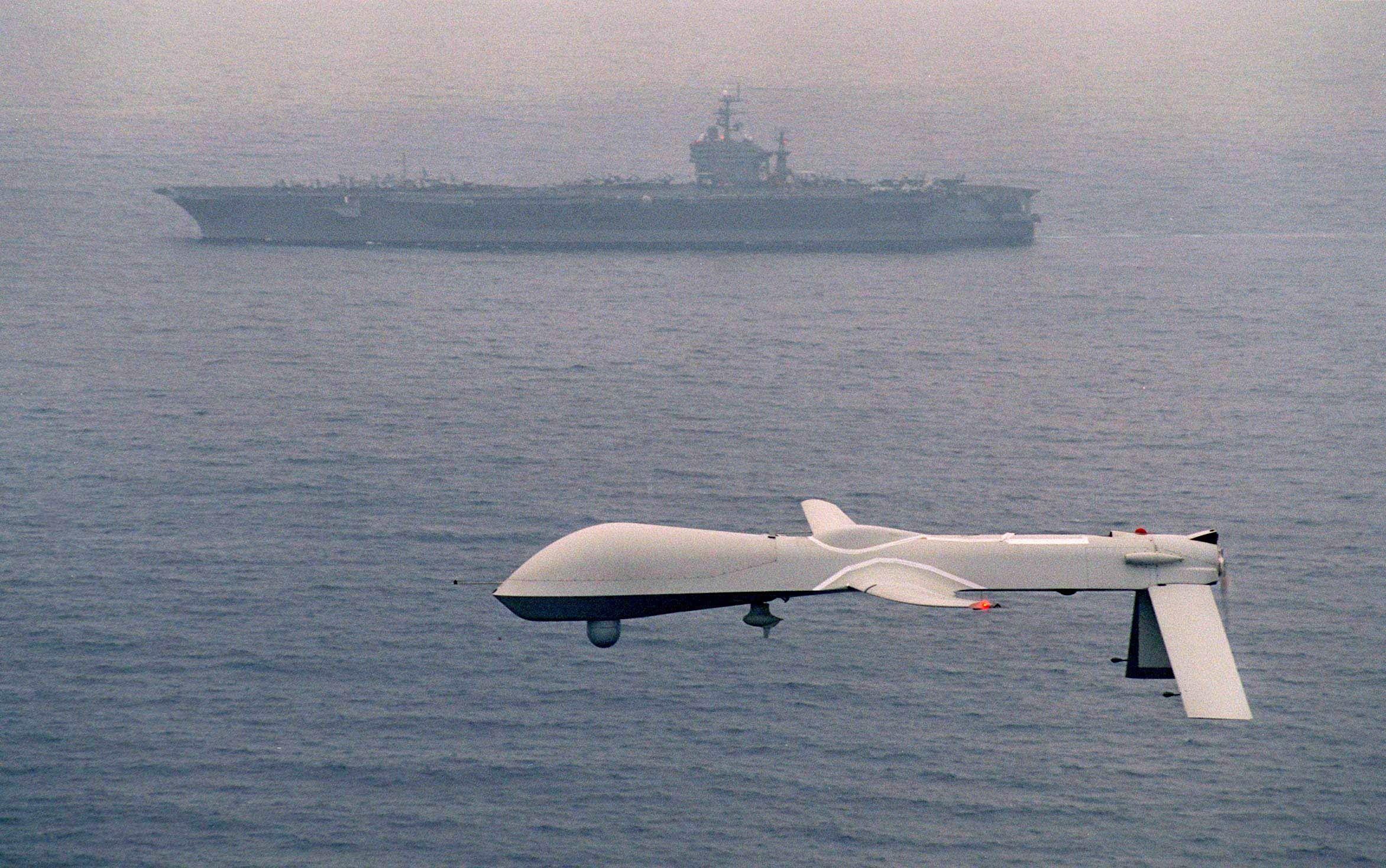 Un drone de EEUU (Foto: Europa Press)