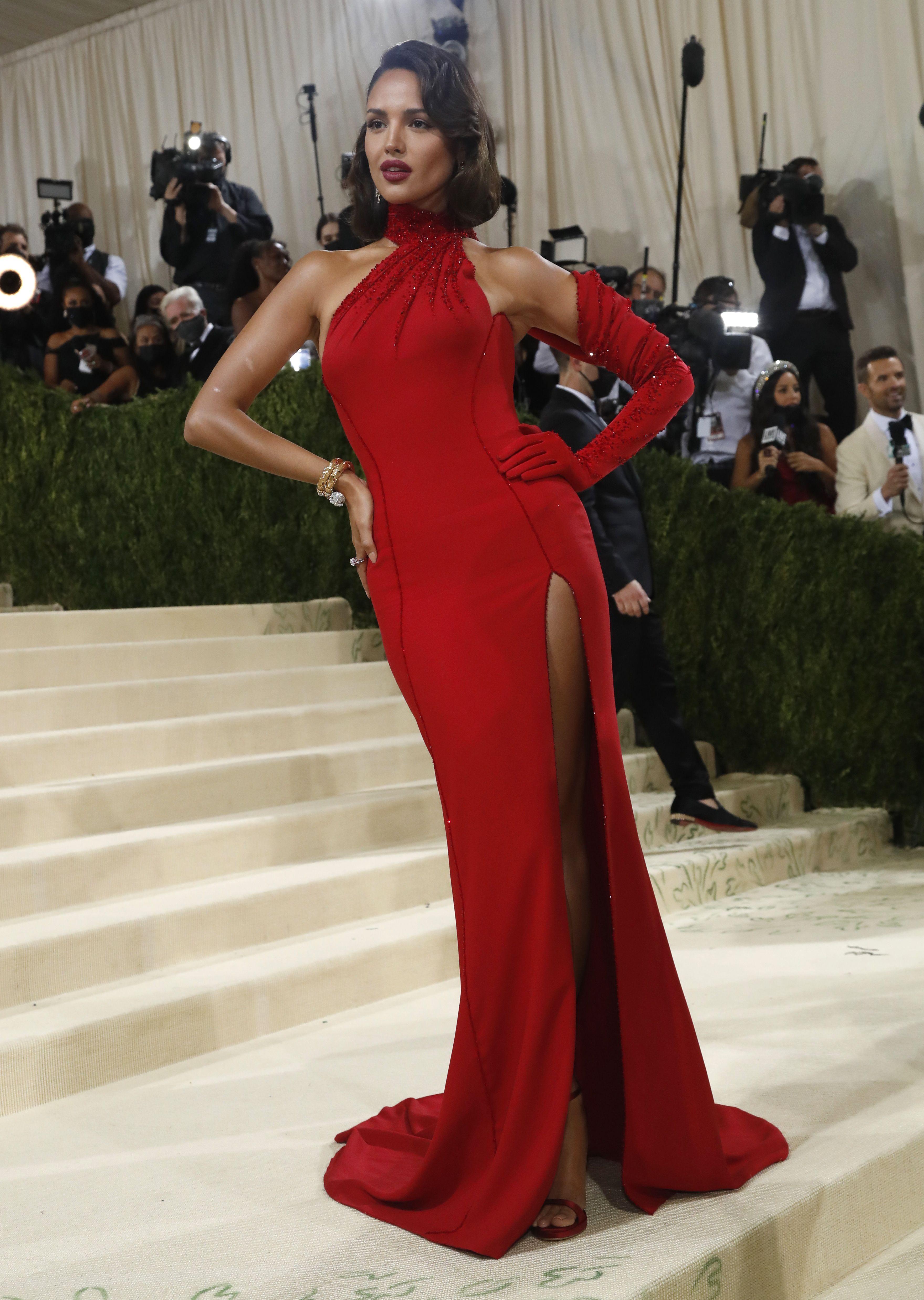 El vestido, además, estuvo inspirado en una de las figuras más icónicas de Hollywood: Ava Gardner (Foto: REUTERS/Mario Anzuoni)