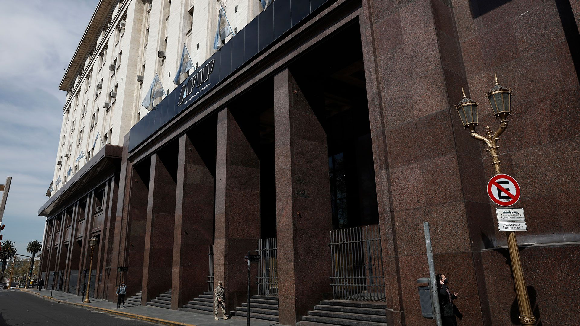 Edificio fachada AFIP