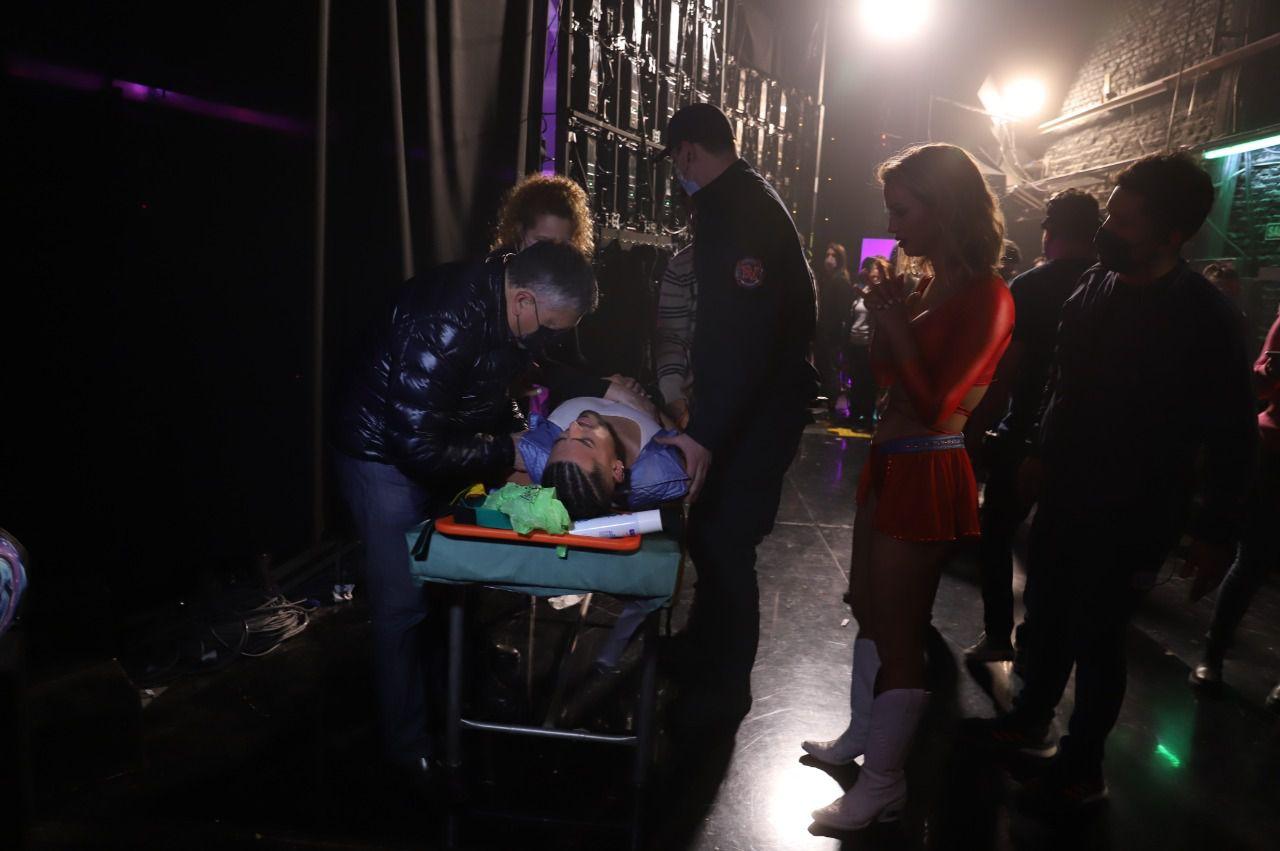 Facu Mazzei se dislocó un hombro en Showmatch