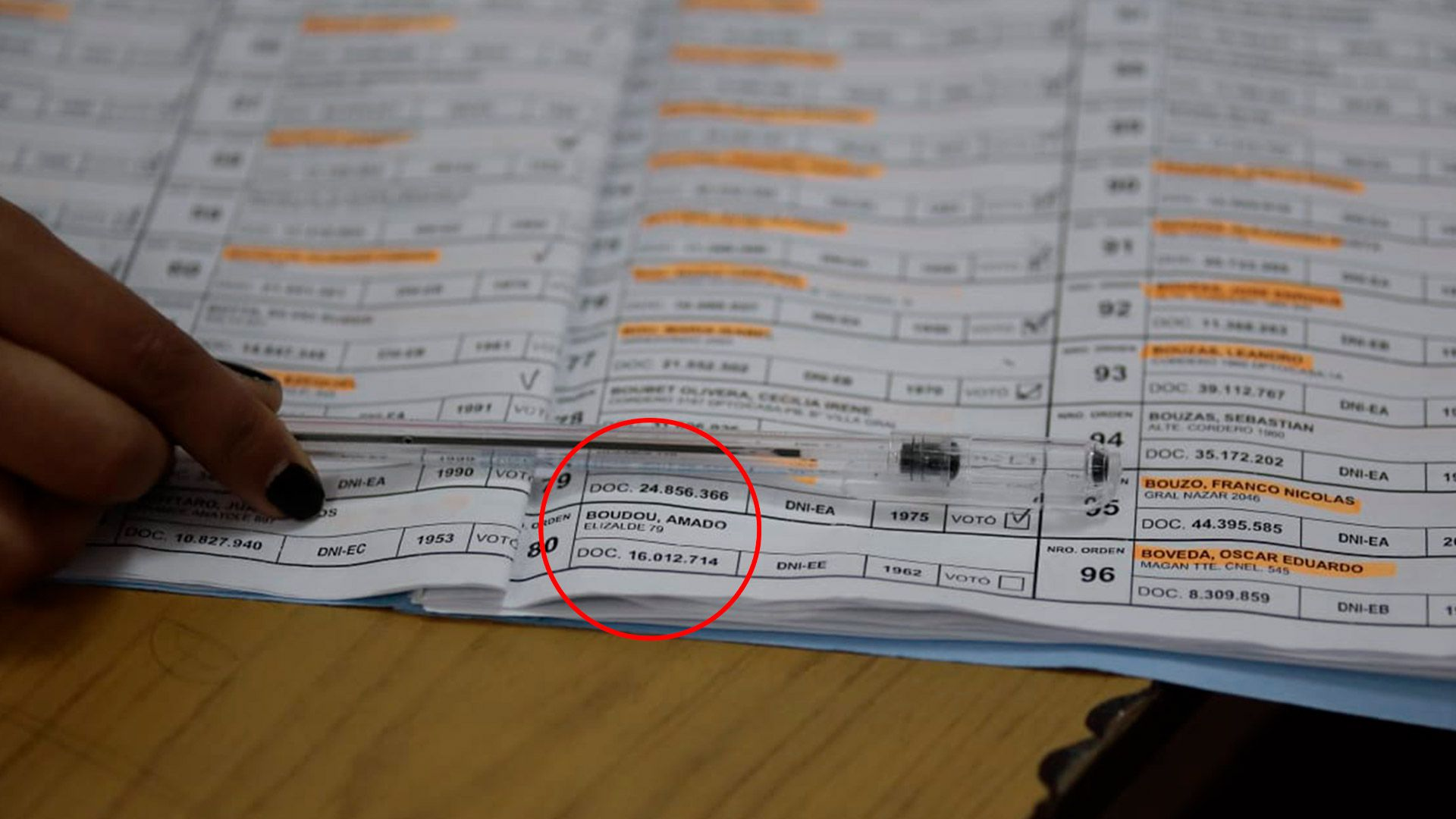 amado boudou elecciones PASO 2021