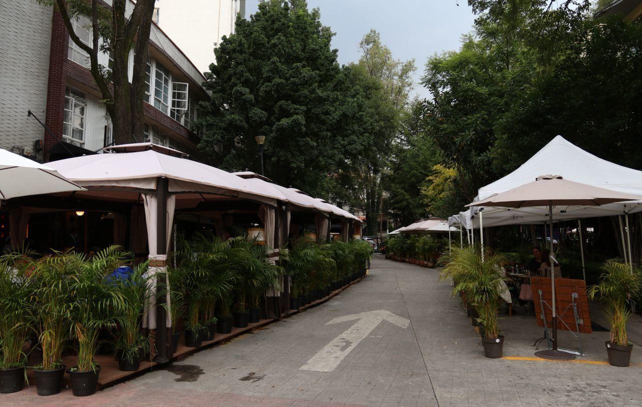 Restaurantes espacios públicos (Foto: Cuartoscuro)