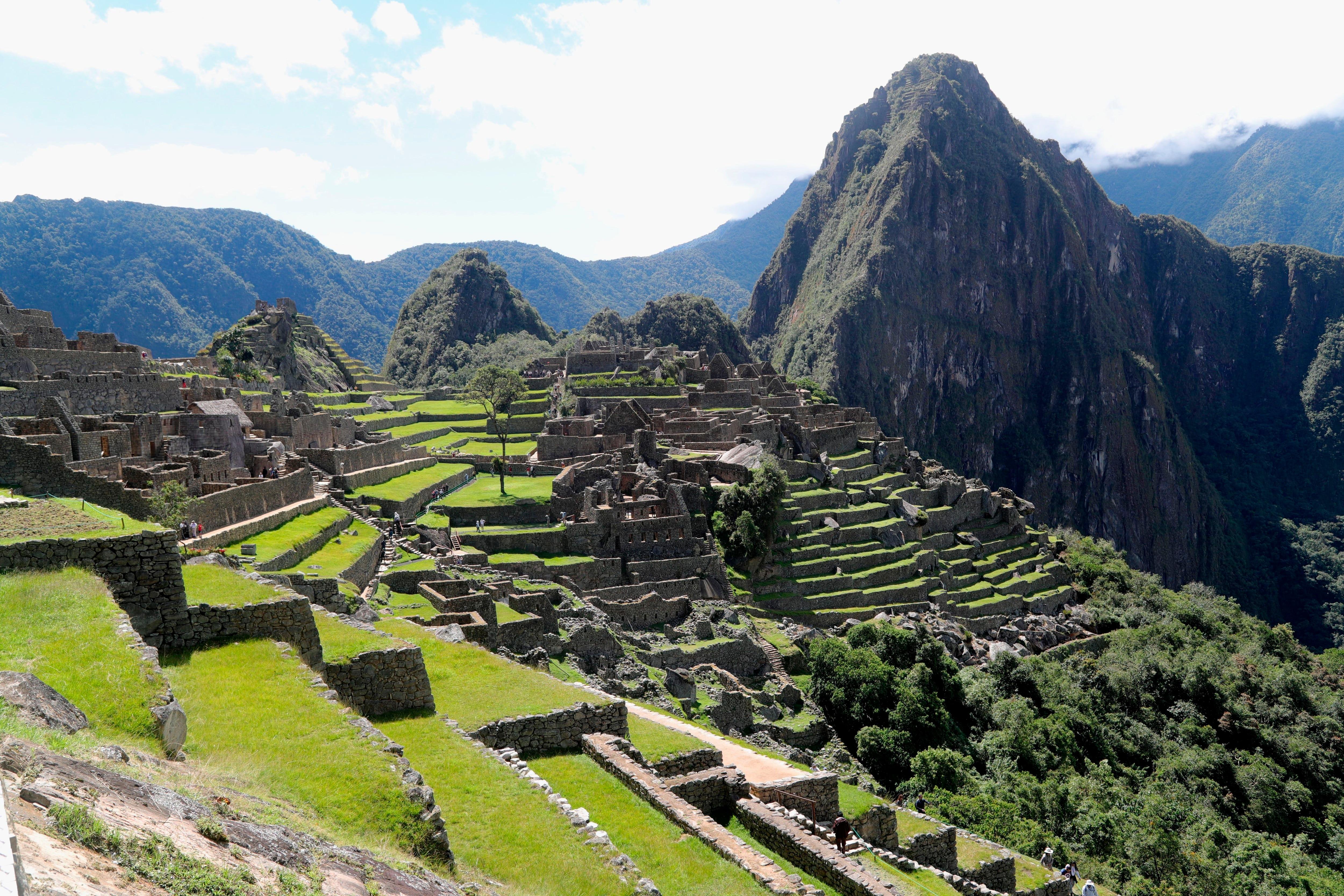 El gobierno peruano habilitó un aforo de 3.500 visitantes por día  (EFE/ Ernesto Arias/Archivo)