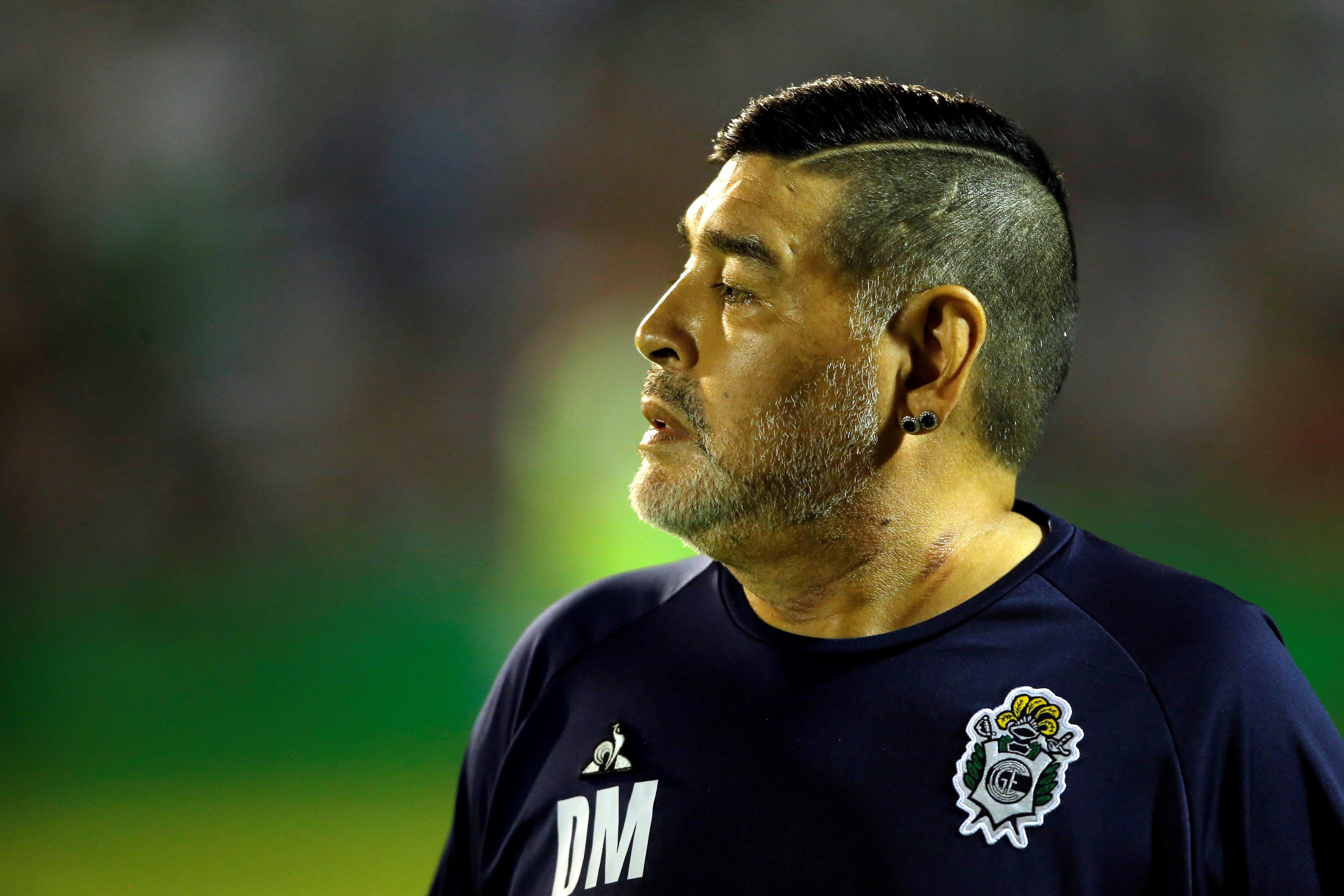 El exfutbolista argentino Diego Maradona, fallecido el 25 de noviembre de 2020, en una fotografía de archivo. EFE/Demian Alday Estévez